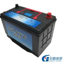 Automotriz baterías fabricante 12 v 75d23l 55d23l smf de plomo ácido barato baterías para el coche