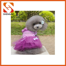 SJ-6644 Made in China cheap fashion pet dress dog shirts dress