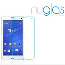 Nuglas 9H 0.3mm Tempered Glass Screen Film for Sony Z3 Compact, Tempered Glass Screen Protector