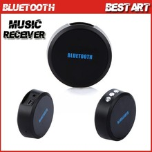 Wireless Bluetooth 3.0 Music Audio Dongle Receiver Handsfree Mic 3.5mm Car AUX Line for iPhone iPad iPod Samsung Black