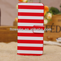 FL2766 2013 Guangzhou High Quality zebra design wallet pu leather case cover for iphone 5c