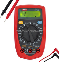 New Voltmeter Ammeter Ohm Test Meter UT33D Palm-Size LCD Display Digital Multimeter