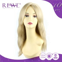 Simple Nice Quality Wholesale Color Best China Honey Blonde Remy Lace Wig