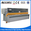 anhui Accurl QC12Y 12*2500MM hydraulic iron cutting machine price , iron sheet cutting machine , sheet metal cutting machine