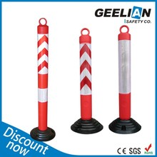 Factory Wholesale Elasticity Removable Parking Post Plastic, Warning Post