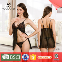 Fast Delivery Fantasy Comfortable Mature Women Hot Sexy Transparent Nighties