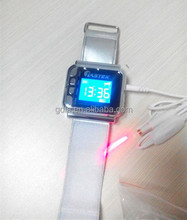 non invasion 8 laser diodes cold laser therapy wristwatch blood purify healthcare gift for friend