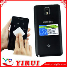 factory price microfiber sticker mobile screen cleaner