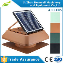SuperAir 12w24v fast delivery solar attic gable fan for house