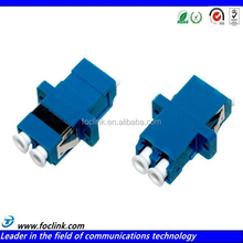 LC PC SM DX Fiber Optical Adapter with Blue Sleeve