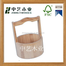 hot selling FSC&SA8000 best selling wooden bucket with made in china suppliers wholesale