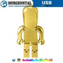 Metal Material and USB 2.0 Interface Type fingerprint encrypted usb flash drive