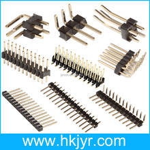 1.27mm pitch double insulator board to board pin header connector