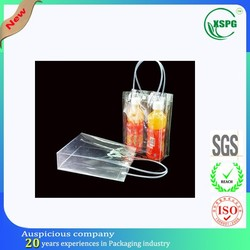 Round tube handle waterproof pvc beverage cooler bag
