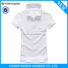 Eco-Friendly Top Quality Women Polo Tshirt 100% Cotton In Cheap Price