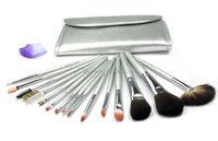 Most Popular Makeup Brush Set-Silver Series 15 PCS