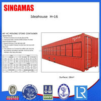 40HC Shipping Container House Construction