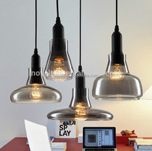 Modern pendant lamp hanging light glass ceiling lighting kit 1*LED 3W suspension lamp