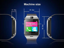 Dual SIM card Touch screen Quadband keypad Smart watch mobile phone Gps Watch Phone Android