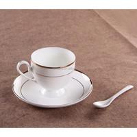 GGK ceramic cup and saucer porcelain bulk tea cup and saucer