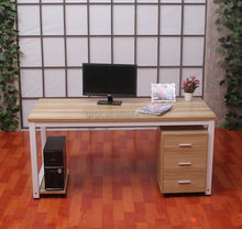 newest wooden top office table, computer desk designs