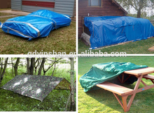 Popular cover poly tarps truck cover camping tent material