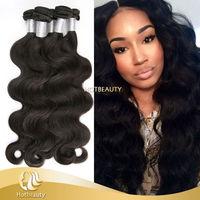 Top Quality Track Hair Braid Peruvian, Body Weave.