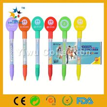 fancy scroll pens,wire decorative flags pen,cord banner pen