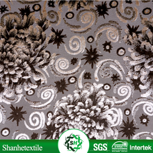 3.0cm/4.0cm/5.0cm velvet train printed fleece fabric