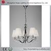 China light factory modern fabric crystal chandelier lighting