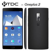 Original Oneplus 2 One plus Two 4G FDD LTE Mobile Phone Snapdragon810 2.7GHz Quad Core 5.5'' FHD 4GB RAM OTG NFC