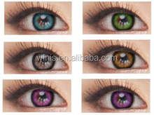 Hot sale factory-sealed Korea cosmetic circle lenses yearly disposable