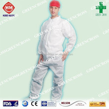 Disposable NW Overall With Single Collar