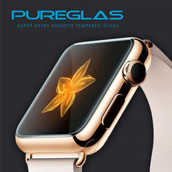9h hardness 42mm screen protector for apple watch with pureglas retail package