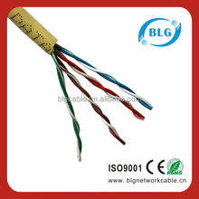 Shenzhen 4P 24AWG UTP Cat 5e Cabling Networking