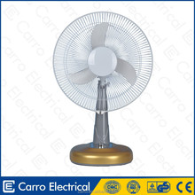 "Good market 16"" 18"" 35watts ac dc powered table air cooler electric fan speed control switch electric fan"