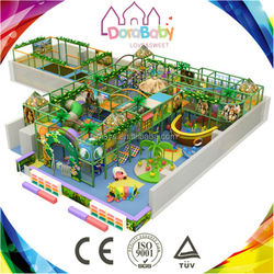 Kids educational indoor amusement play park, children playground equipment