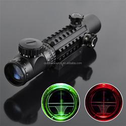 C2-6X28EG High magnification Red Green dot sighting telescope Mil Dot Air Rifle Gun Outdoor Optics Sniper Deer Hunting Scope