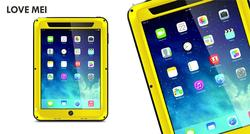 LOVE MEI Powerful for ipad air case Rugged Waterproof Shockproof Dirtproof Snowproof Case For ipad air cover case