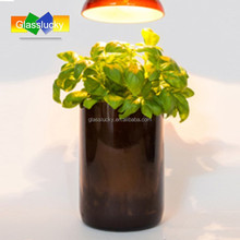 brown glass vase recycled wholesale