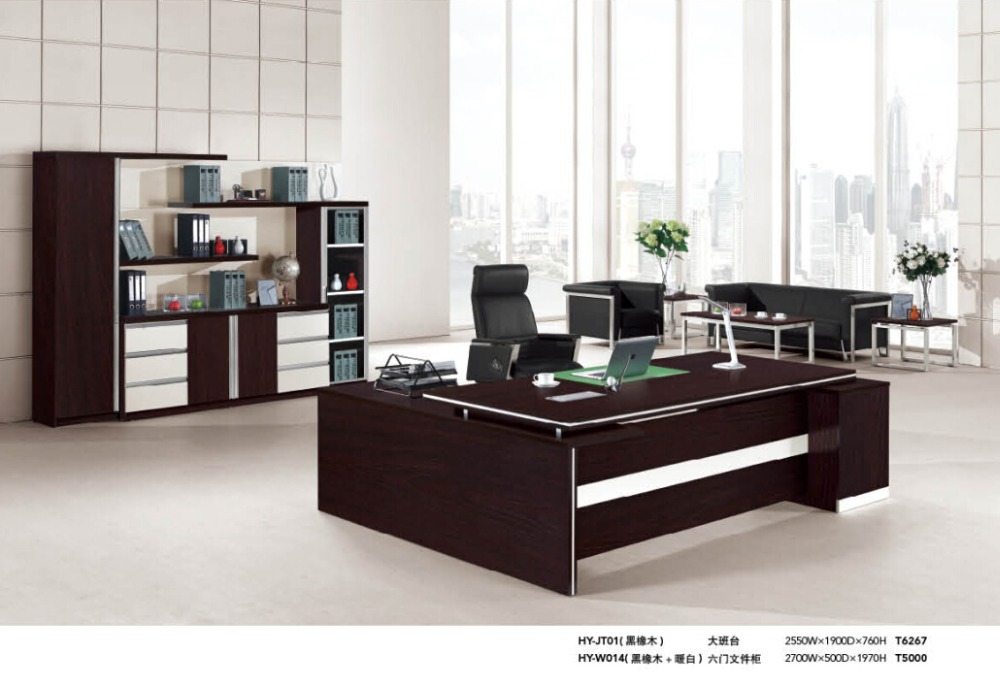 2015 boss modern director office table design buy boss for Director office room design