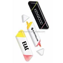 Wholesale custom novelty 2-Color Highlighter