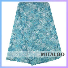 Mitaloo 2015 Charming Design Polyester African Dress For Wedding or Party Cupion Lace MCP0059