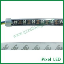 digital RGB 60 LED ws2812b led flexible strip - black PCB