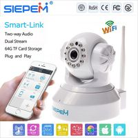 Top quality promotional gift WiFi(IEEE 802.11b/g/n) wi-fi ip camera warehouse