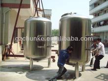 SS304 media mechanical ir cut filter Housing for water treatment