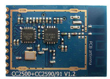 CC2500 module with data rate as high as 500Kbps