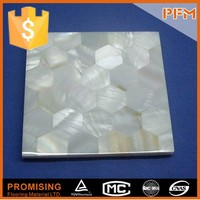 Natural mother of pearl pure white china river shell mosaic tiles