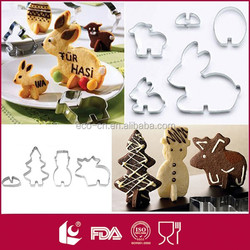 Classic lovely shape stainless steel custom cookie cutter