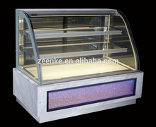 Queso / refrigerador del chocolate / usado refrigerado vitrinas